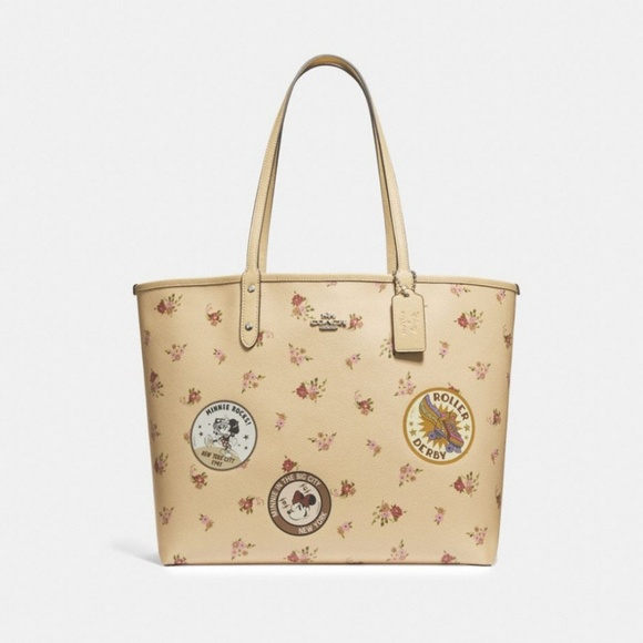 352bb383 Minnie mouse Disney X Coach Collection Tote